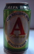 ALFA BEER 33CL 5,00% VOL ATHENIAN Lata vacia empty can leere dose lattina vuota