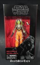 """Star Wars The Black Series 6"""" Rebels General Hera Syndulla Twi'lek Ghost Ryloth"""