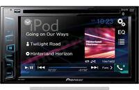 "NEW PIONEER DOUBLE 2 DIN AVH-280BT DVD/MP3/CD PLAYER 6.2"" TOUCHSCREEN BLUETOOTH"