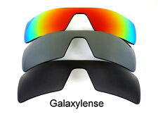 Galaxy Replacement Lenses For Oakley Oil Rig Black&Titanium&Red Polarized 3Pairs