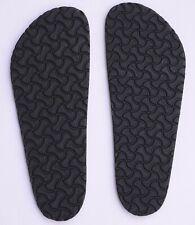 EVA Full Soles Black Brown Resole Replacement 12.5 x 4.5 for BIRKENSTOCK sandals