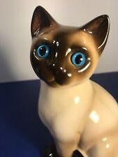 Vintage Ceramic Siamese Cat