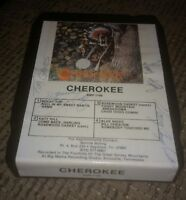 CHEROKEE Seymour Tennessee Folk Music 8 Track Tape Album AUTOGRAPHED BMP-1108