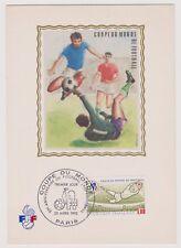 COLLECTION : Document philatélique 1er Jour Coupe du Monde Foot 23/04/82 Paris