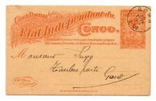 CONGO: Postcard Boma to Belgium 1920.