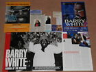 10- BARRY WHITE Magazine Clippings