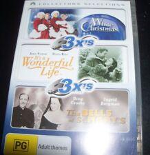 White Christmas/It's A Wonderful Life/The Bells Od St. Mary's (Aust Reg 4) 3 DVD