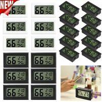 5/10Pcs Digital LCD Indoor Temperature Humidity Meter Thermometer Hygrometer US