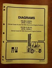 Hyster Heavy Equipment Manuals & Books for Hyster Forklift for sale on