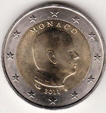 MONACO 2 EURO PRINCIPE ALBERT ANNO 2011 EMISSIONE DA ROTOLO