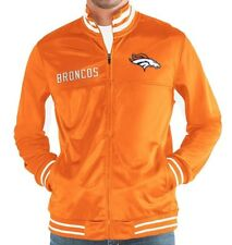 d23dc78f7 G-III Sports NFL Big Shot Track Jacket Orange Denver Broncos Xx-large