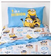 Despicable Minions Twin bed Size 3Pcs Sheet Set,Cotton Rich, Multi-Color