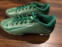 NWOB Nike Men's Vapor Untouchable 3 Speed Football Cleats Size 10 Green White