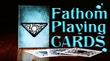 FATHOM BICYCLE DECK OF PLAYING CARDS BY ELLUSIONIST POKER SIZE MAGIC CARD TRICKS