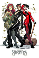 Harley Quinn, Catwoman & Poison Ivy Sexy Magnet # 9