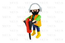 YRTS Playmobil Serie 6 Obrero con Percutor ¡New!