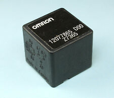 Omron GM 12077865 80 Ohms 30A OEM 5-Pin Relay / Fuse 614.GM4U04 SPDT