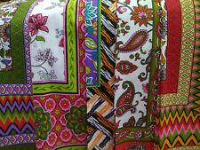 Table CLOTH Fabric 100% Cotton 140cm x 210cm Large 6-8 seats VINTAGE Floral