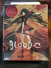 (Blu-ray) BLOOD-C: The Complete Series (2013, 4-Disc Limited Edition w/DVD) OOP