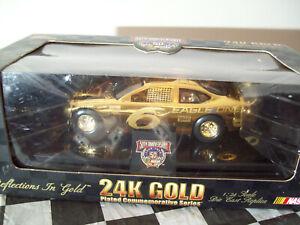 MARK MARTIN 24K GOLD EAGLE ONE 1/24 SCALE NASCAR CAR 1 of 2500 1998 RACING CHAMP