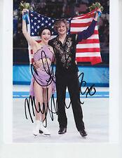 Meryl Davis Charlie White - SOCHI OLYMPICS GOLD MEDAL / DWTS - signed 8x10