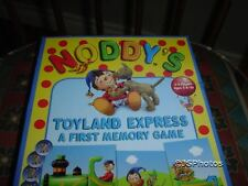 Noddy Toyland Express Train First Memory Game 1999