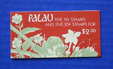 Palau (#133b) 1988 Indigenous Flowers MNH booklet
