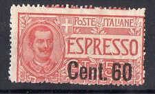 1922 REGNO ESPRESSO 60 CENTESIMI SU 50 INTEGRO C/3949