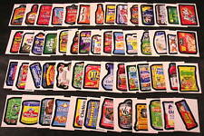 2010 Topps Wacky Packages ANS7 Series 7 COMPLETE BASE SET of 55 stickers nm+