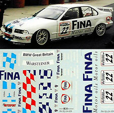 Bmw 320i fina BTCC 1996 Winkelhock #22 - 1:24 decal estampado