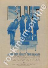 Blue Elton John Rocket Record ROLL 7 Another Night Time Flight LP Advert 1977