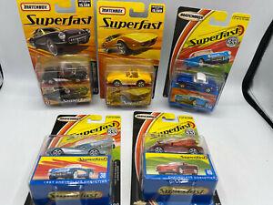 Matchbox Superfast 1/64 Diecast Lot 47 Chevrolet Chevy Corvette 44 68 38 46