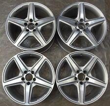 4 AMG Mercedes-Benz Cerchi in Lega 8.5Jx18 ET34,5 A2184011402 CLSC218 X218 F2896