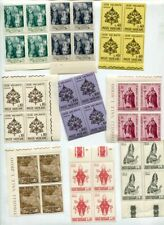 VATICAN 1958-73 MNH COLLECTION BLOCKS 500+ Stamps
