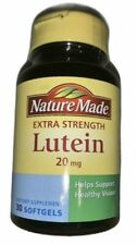 Nature Made Extra Strength Lutein 20 mg 30 Softgels  Supports Healthy Vision