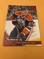 Connor Mcdavid 17-18 Parkhurst Red Card Edmonton Oilers