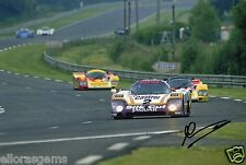 "Le Mans Driver Andy Wallace Hand Signed Photo 12x8"" Ap"