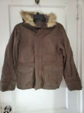 Epic Threats boys jacket with fur hoodie