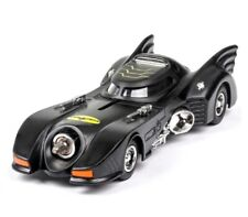 Dc super heroes batman diecast car 1989 batmobile metal model with light