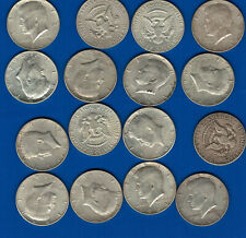 1964 Kennedy Half Dollars, circulated. average, random select