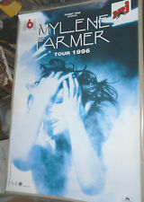 MYLENE FARMER VERITABLE AFFICHE CONCERT format environ 79 x 118 cm TOUR 1996