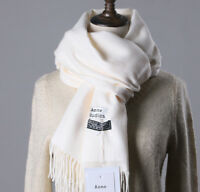 Cashmere Wool Scarf Long Solid Pashmina Shawl 210X70cm Soft Wrap Stole Unisex