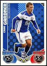 Craig Gardner #45 Birmingham City Topps Match Attax 2010-11 Football Card (C602)