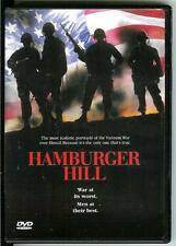 HAMBURGER HILL, used movie DVD, 1987, Vietnam War film of Hill 937 in 1969