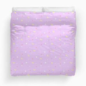 Sailor moon bunny duvet Queen size + 2 white pillow cases