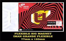 ROLLING STONES PARIS NO FILTER  TOUR FLEXIBLE BIG MAGNET IMAN GRANDE 0196