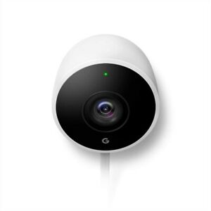 Nest Cam Outdoor Weatherproof Outdoor Camera with Night Vision for Home Security