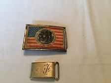 Belt Buckles Two Assorted Vintage