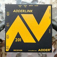 Video + Audio # AdderLink AV # Receiver # Modell: ALAV-201-R # 2005