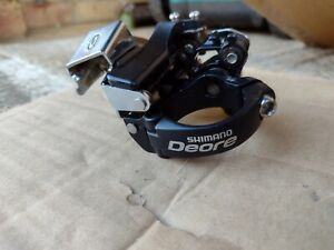 Shimano M530 Deore MTB XC Front Mech Derailleur 9 Speed Dual Pull